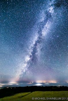 Electric Milky Way, via Flickr.