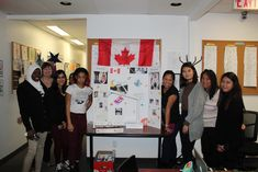 Evergreen College students worked on class presentations to celebrate International Day of Human Space flight. Each class presented their findings about a country and their role in space exploration. For more information about Evergreen College, please call us at (416) 365-0505 #EvergreenCollege #study #community #Toronto