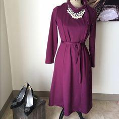 Vintage dress Vintage dress , great conditions , zipper n the back Dresses Long Sleeve