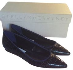 Stella McCartney Black/Electra Flats