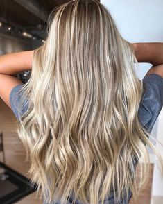 68 Blonde Balayage Highlights to Try in 2019 Brown Ombre Hair, Ombre Hair Color, Hair Color Balayage, Hair Highlights, Dirty Blonde Hair With Highlights, Summer Highlights, Blonde Color, Hair Colors, Highlighted Blonde Hair