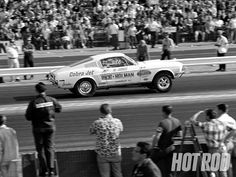1968 Cobra Jet Mustang Side View Photo 1