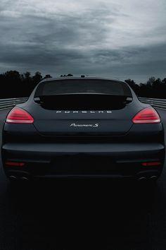 Porsche Panamera S. Gorgeous.