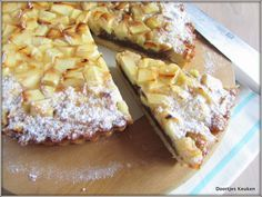 Appelspeculaasflan - Doortjes Keuken