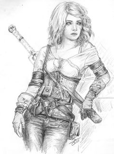 #the_witcher@all_you_game <br><br>Ciri