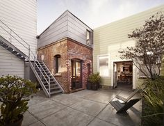 Designer Christi Azevedo of Azevedo Design converted an old laundry boiler room in California, USA into a charming small home