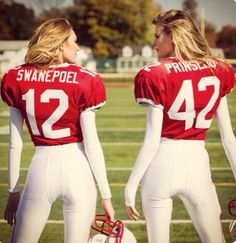 off to my Superbowl Shindig.Victoria's Secret Angels Candice Swanepoel and Behati Prinsloo play football in 2015 Super Bowl commercial. Victorias Secret Models, Victoria Secret Fashion Show, Miranda Kerr, Cara Delevingne, Super Bowl, Kim Kardashian, Victoria's Secret Angels, Secret Valentine, American Football