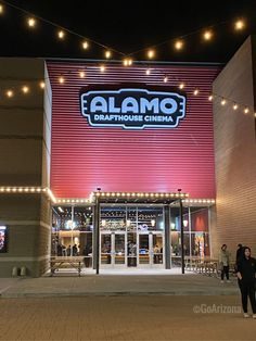 The other night we went and watched one of our favorite over at Alamo Drafthouse in Gilbert; The Alamo, Alamo Drafthouse, Gilbert Arizona, Real Estate Video, Watch One, Big Guns, Movie Party, New Adventures, Group