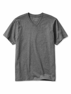 Basic Pima Vee - This timeless design never loses its appeal. Customized from the finest cotton, our super-smooth v-neck maintains its shape and superior softness wash after wash.