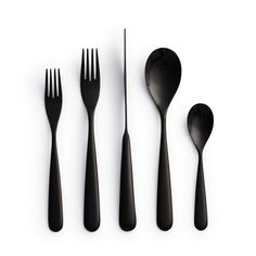 Products we like / Cutlery / Black / Century Flatware / Tabletop Design / at fancy.com