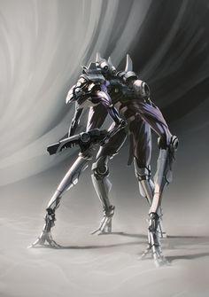 Alien by arttfix Alien Concept, Concept Art, Character Art, Character Design, Arte Cyberpunk, Alien Planet, Super Soldier, Android, Game Design