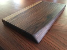 Black Walnut Cutting Board with Beautiful Natural Edge