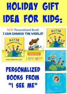 Holiday Gift Idea: I See Me Personalized Children's Books #ISeeMeBooks