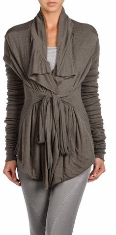 Lilies Gray Cardigan. #fall #style