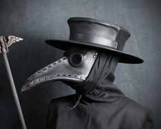 Plague Doctor hat by TomBanwell on DeviantArt
