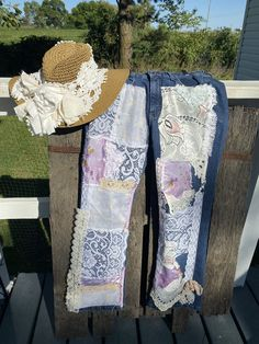 Excited to share this item from my #etsy shop: Womens, upcycled jeans, shabby chic clothing, shabby jeans, lace jeans Lace Jeans, Rider Jeans, Chic Clothing, Upcycle, Jeans Size, Shabby Chic, Etsy Shop, Quilts, Shopping