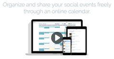 Online Calendar & Calendar Widget for Embeddable Events Calendar Software, Calendar Widget, Online Calendar, Social Events, Upcoming Events, Internet, Community, Ads, Organization