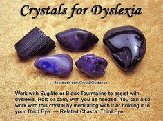 Crystal for Dyslexia