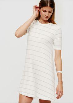 Lou & Grey Striped Signaturesoft Swing Dress | Brides.com
