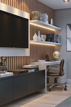 Decor Home Office Design Ideas. Office are now a standard to modern-day homes. Decor Home Office Design Ideas. Office are now a standard to modern-day homes. All of us have actua Home Office Design, Home Office Decor, House Design, Home Decor, Office Designs, Office Ideas, Office Table, Office Furniture, Home Study Design