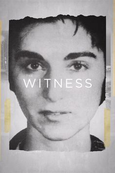 The Witness Movie Poster - William Genovese  #TheWitness, #WilliamGenovese, #JamesDSolomon, #Documentary, #Art, #Film, #Movie, #Poster