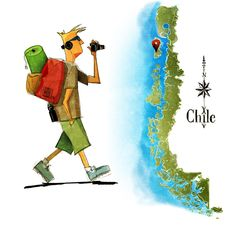 """new """"mochileros"""" en el sur de Chile"""
