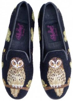 Needlepoint loafers $142
