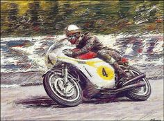TT legends - Mike Hailwood by Peter Hearsey
