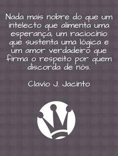 Pr C. J. Jacinto: Equilibrio Intelectual