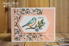 Stampin' Up! free as a bird, bird ballad suite Scrapbooking, Stampin Up Catalog, Bird Cards, Stamping Up Cards, Homemade Cards, Making Ideas, I Card, Cardmaking, Birthday Cards