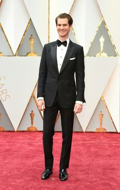 Andrew Garfield | 17 Men Who Brought Their A-Game To The Oscars Red Carpet