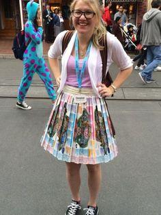 Fans Show their #Disneyside with DIY Disney Costumes at #Disney24