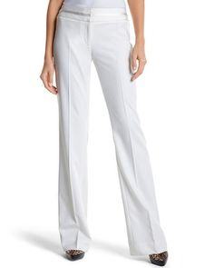 Fantastic  Concepts Woman Sz 22W White Cropped Casual Business Pants  EBay