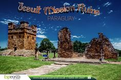 #Jesuit Mission #Ruins, Paraguay:  The Jesuit Missions of La #Santísima Trinidad de Paraná and Jesús de #Tavarangue are located in the Itapúa Department, #Paraguay, and are #religious #mission that are still preserved. |   Source: https://en.wikipedia.org |  #JesuitMissionRuins #RuinsinParaguay #HistoricalRuins #SouthAmerica #EsperanzaTravel #TravelAgentUK |   #CheapFlights to #Paraguay: http://www.esperanzatravel.co.uk/cheap-flights-to-paraguay.php
