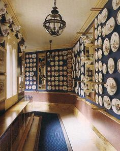 The China Gallery at Alnwick Castle.