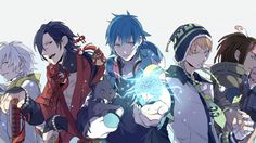 dramatical murder data transitory | dramatical murder cg art zerochan anime image board dramatical murder