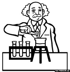 scientist coloring sheets - Mersn.proforum.co