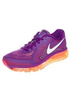 AIR MAX 2014 - Laufschuh Neutral - bright grape white. Cushioned Running  ShoesNeutral ... e039bad82