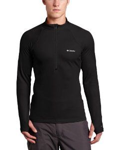 Columbia Men's Expedition Long Sleeve 1/2 Zip Shirt -- with Omni-heat reflective liner - #clothing #outdoors