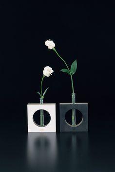 Flower tube by Adachi Shiki Kogyo, Japan