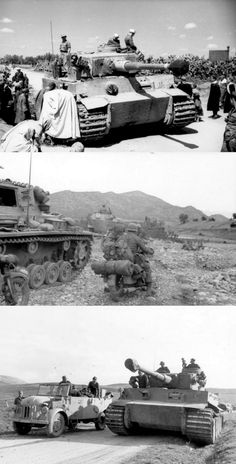 Panzer in North Africa