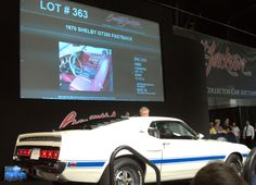 From CarBuyingTips.com, Here's a rear view of that 1970 Shelby GT350 Fastback that we posted the other day, which bid to $80,000. Barrett Jackson Auction, Rear View, Palm Beach, Cool Cars
