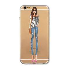 LULU Girl Phone Case For Apple iPhone 7 6 6s 5 5S SE 7plus 6sPlus 4 4S