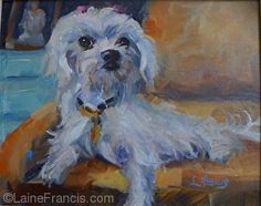 """""""Lolly"""" by Laine Francis Oil ~ 8 x 10"""