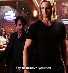 """When he was all """"long hair, don't care.""""   34 Moments That Show Why Eric Northman Is The Only Thing We'll Miss From """"True Blood"""""""