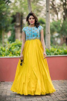 Anarkali gown by Issha studio