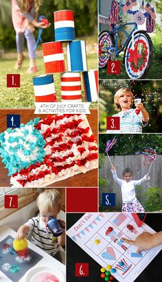 Roundup: 4th of July crafts & activities for kids   TheMombot.com