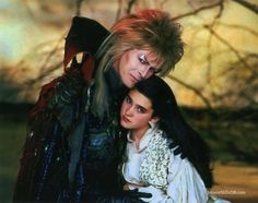 Jennifer Connelly Remembers David Bowie As Extremely 'Kind' While Working With Him On Labyrinth — See Her Sweet Words David Bowie Labyrinth, Labyrinth 1986, Labyrinth Movie, Sarah Labyrinth, Jennifer Connelly Labyrinth, Labyrinth Goblins, Sarah And Jareth, Jim Henson Labyrinth, Goblin King