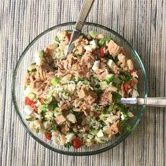 En el perfil de @altacucinaitaliana encontramos platos como este Cooking Recipes, Healthy Recipes, Health Snacks, Light Recipes, Summer Recipes, Healthy Choices, Salad Recipes, Food And Drink, Healthy Eating