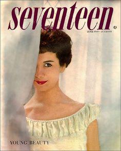 Seventeen magazine 1949 June